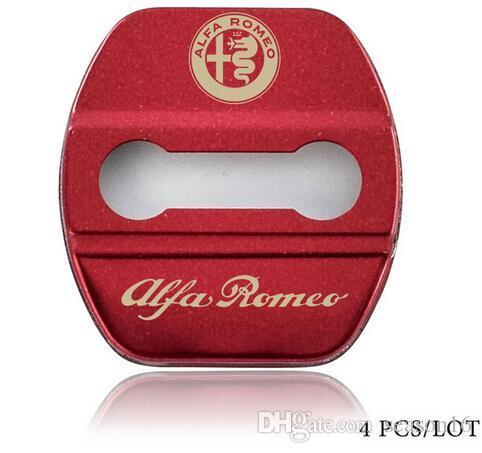 سيارة التصميم باب قفل الغلاف القضية ل Alfa Romeo Giulietta شمسات ستيلفيو مشبك السيارات التصميم