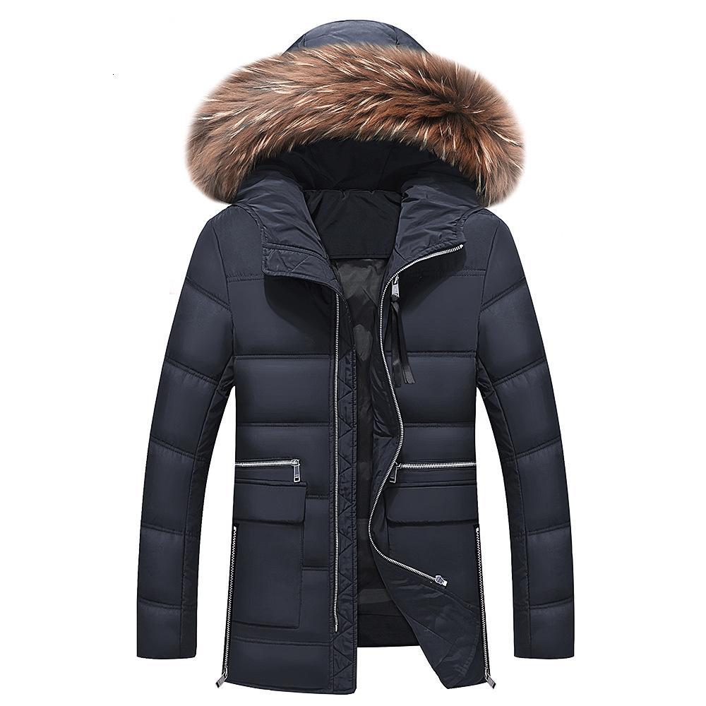 Kış Ceket Erkekler 2017 Yeni erkek Aşağı Ceket Kapüşonlu Ördek Aşağı Kış Palto Artı Boyutu Dış Giyim Ceket Erkekler Kış Aşağı Ceket T190912