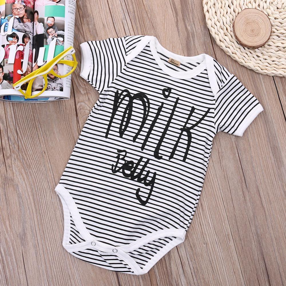 2020 En Yeni Çocuk Erkek Bebek Kız Bebek Romper Tulum babby Yaz Pamuk Casual Giyim Kıyafetler