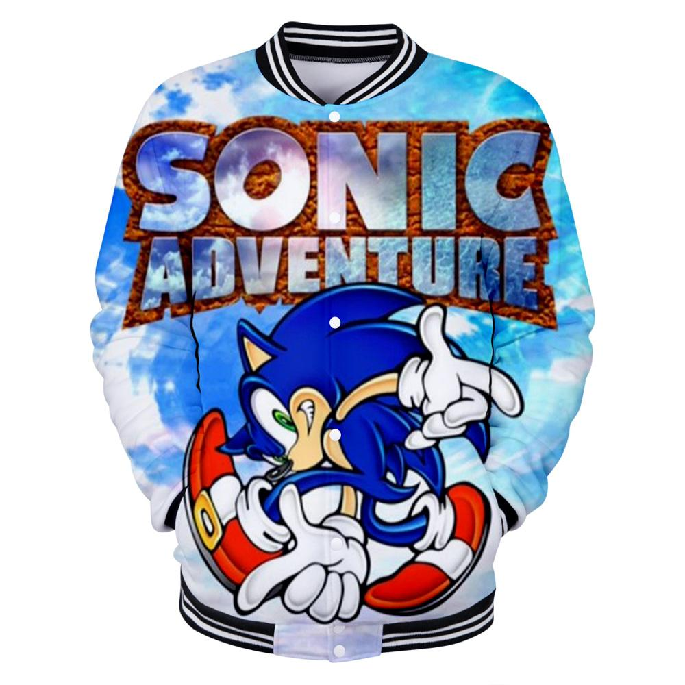2020 New Sonic The Hedgehog Printed 3d Baseball Jackets Women Men Fashion Long Sleeve Jacket 2019 Hot Sale Casual Streetwear Clothes From Edward03 31 36 Dhgate Com