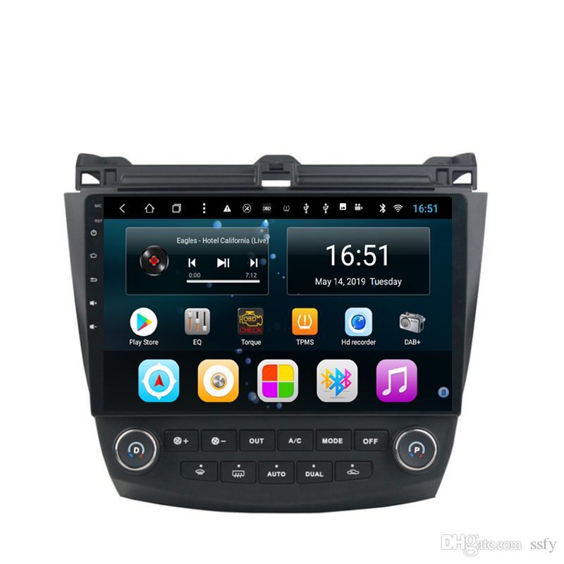 Android 10.1inch 8-core for Honda accord 7 2003-2007 Car Multimedia Player Radio WIFI Bluetooth GPS Navigation Wifi Head Unit