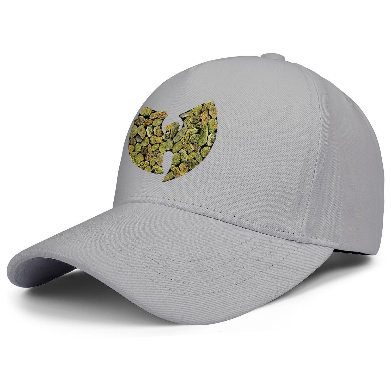 WU Tang Clan Pot Leaf Logo white mens and women trucker cap ball design custom blank team running hats