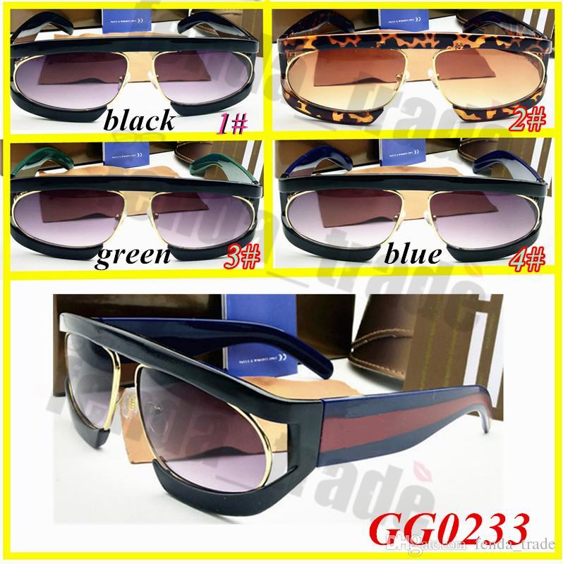 Женские Летние Солнцезащитные Очки Очки Мужские Солнцезащитные Очки для женщин cuculos Gafas G0233 4 цвета 10шт. Известные дизайнерские солнцезащитные очки марки красная зеленая полоса