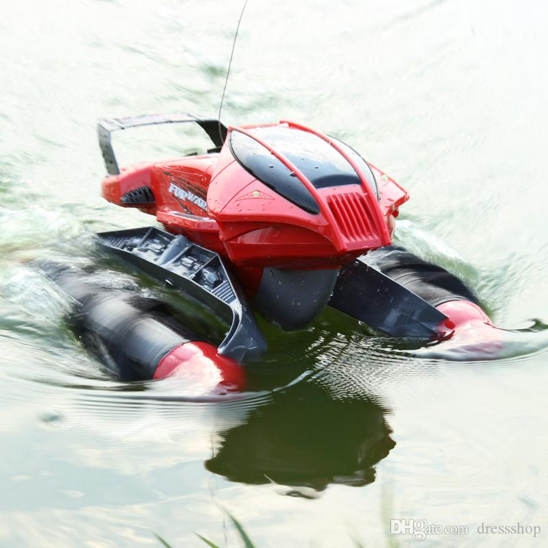 Foreign trade amphibious car water beach car remote control car children's toys off-road vehicles large tanks wholesale