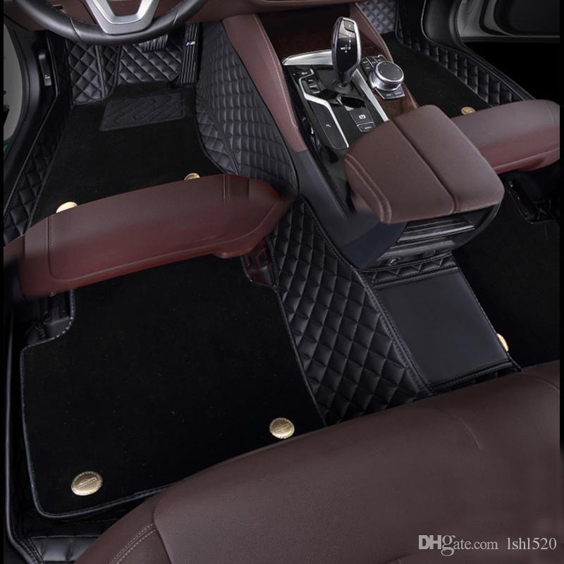 Автомобильные коврики для BMW GT 320i 330i 528i 520i ActiveHybrid 535i E70 E83 Полный привод 13 4 5 6 7 Серия X1 X3 X4 X5 X6 Автомобильный ковер 2020