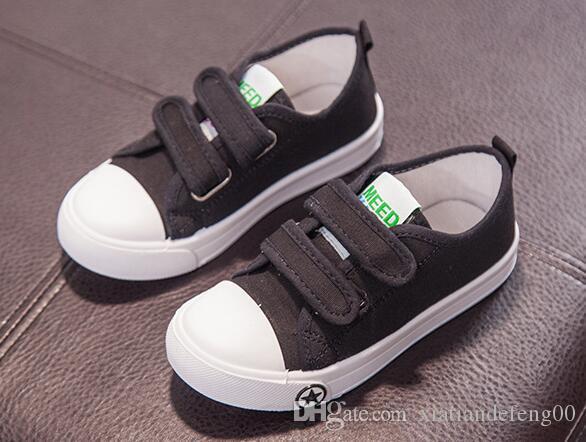 الأطفال بلون عارضة قماش أحذية بنين بنات أحذية موضة أحذية رياضية في الهواء الطلق أحذية رياضية للأطفال