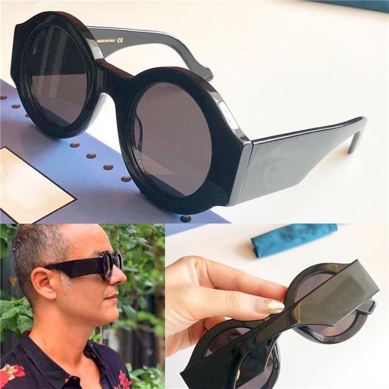 Novos óculos escuros de grife retro redondo do quadro 0630 proteção UV de proteção 400 óculos ao ar livre qualidade superior simples