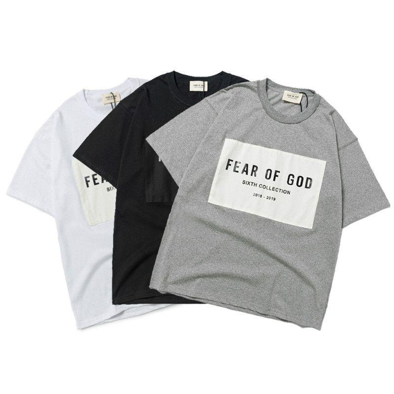 T-shirt Mens 2020 T-shirt Essentials Brouillons imprimés Été Mode Top Lettre Femmes Short Marque Sleeve Street Street Street Style Iueuo