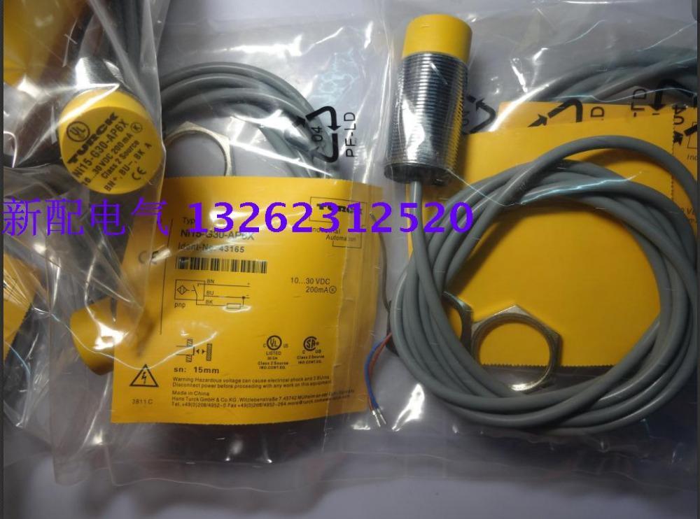 NI15-G30-AN6X NI15-G30-AP6X Turck Yeni Yüksek Kaliteli Yakınlık Anahtarı Sensörü
