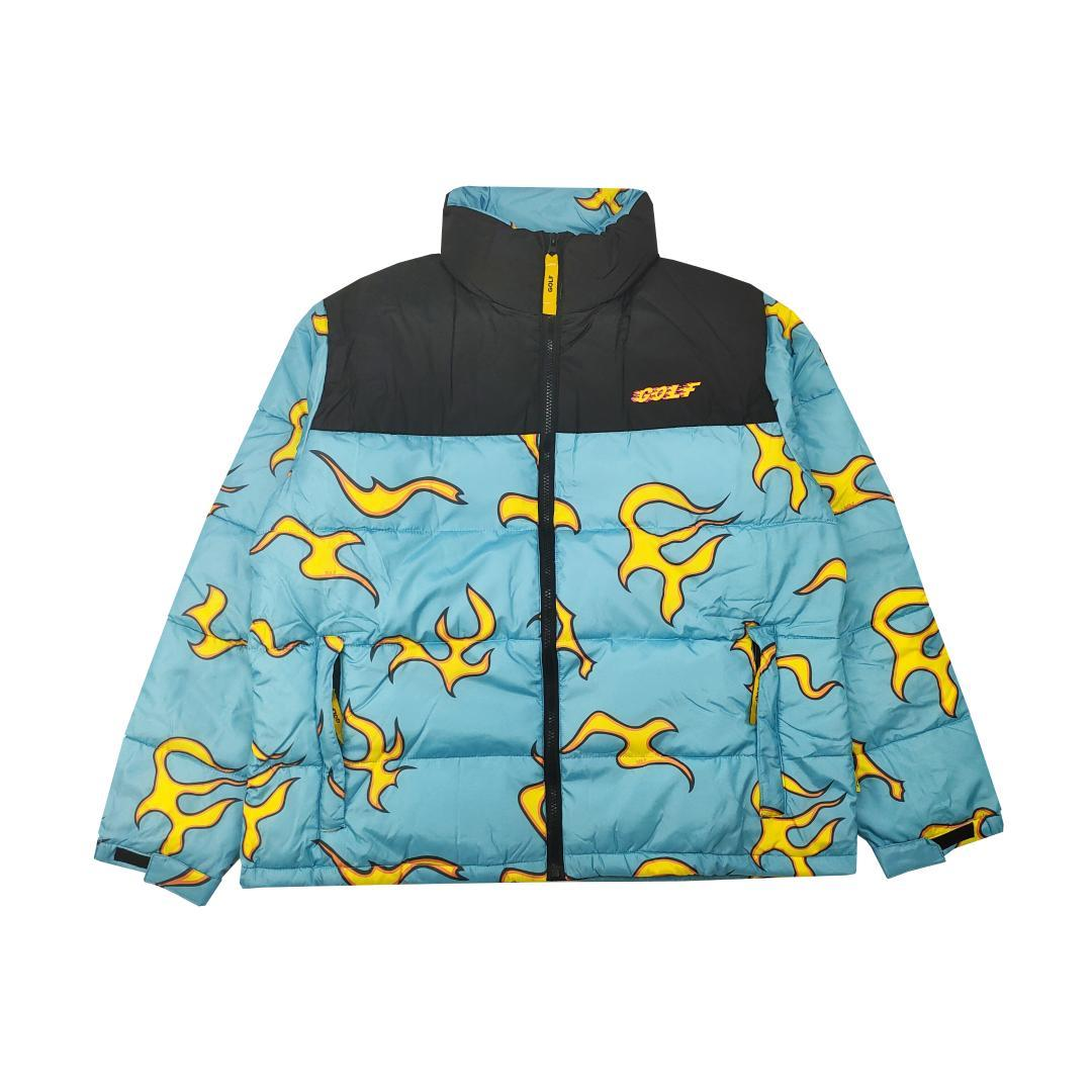 2020 New Luxury Men Golf Flower Le Fleur Tyler The Creator Blue Flame Coats Jackets Down Coats Cotton Warm Winter From T Shop008 85 78 Dhgate Com