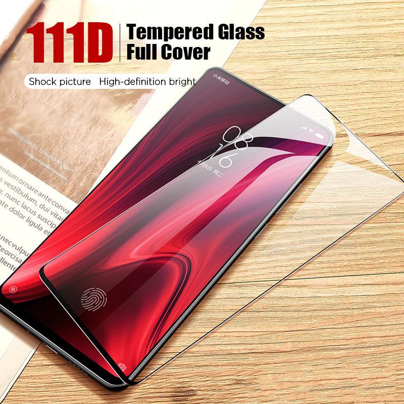 111D película de seguridad de vidrio templado para Xiaomi redmi Nota 8 7 Pro 8T cristal protector para redmi 8A 7A S2 GO protector de la pantalla