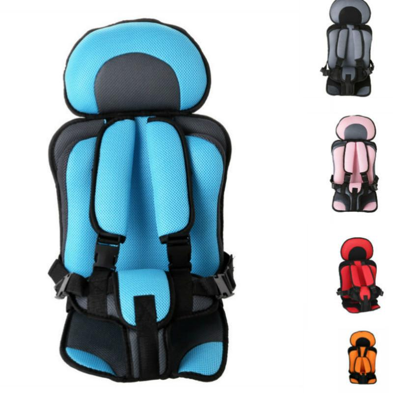 Portable Baby Car Seat Mat Bean Bag Chair Seat Puff Thickening Sponge toddle Feeding Chairs for 6 months-1-5 Years Old
