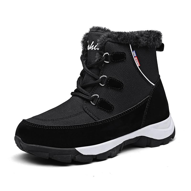 winter boots women platform winter boots thick plush waterproof non-slip boots women white outdoor winter Warm shoes botas mujer