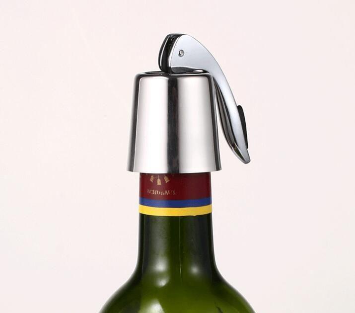 Reusable Crystal Metal Creative Bottle Plug Wine Cork Beverage Stoppers for Bar