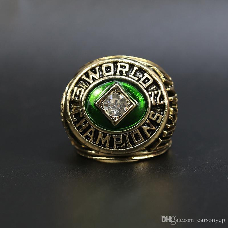 1972 Atletica leggera Campionati del mondo di baseball Anelli Souvenir Uomini Fan Regalo Drop Shipping