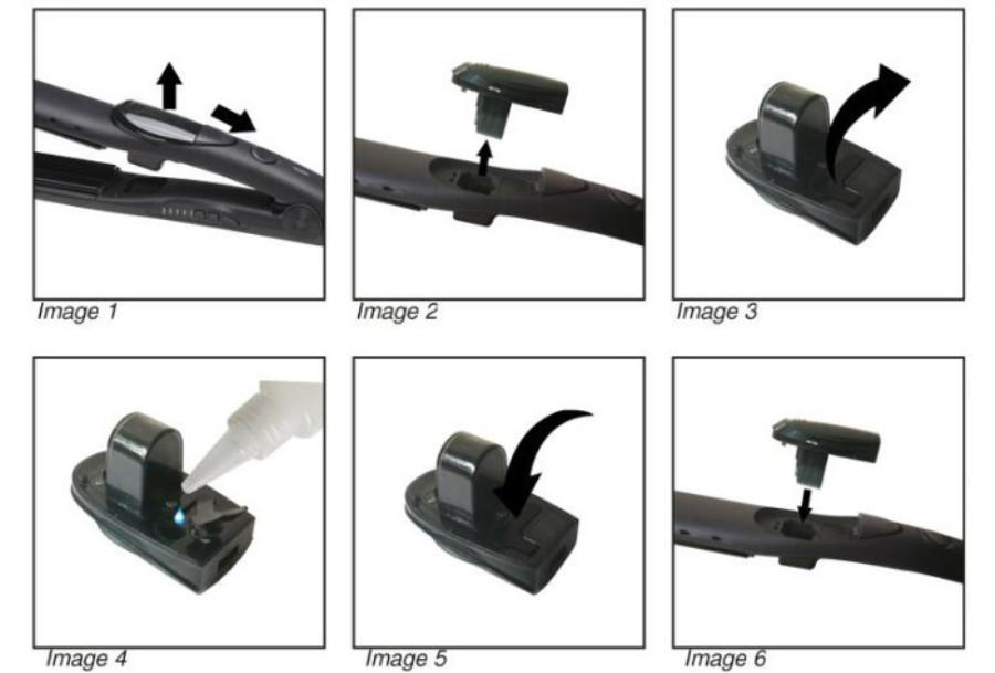 2020Hot Sale Dropshipping Steam Hair Выпрямители прямой скручиваемость распыления шины турмалиновые керамические волосы утюги