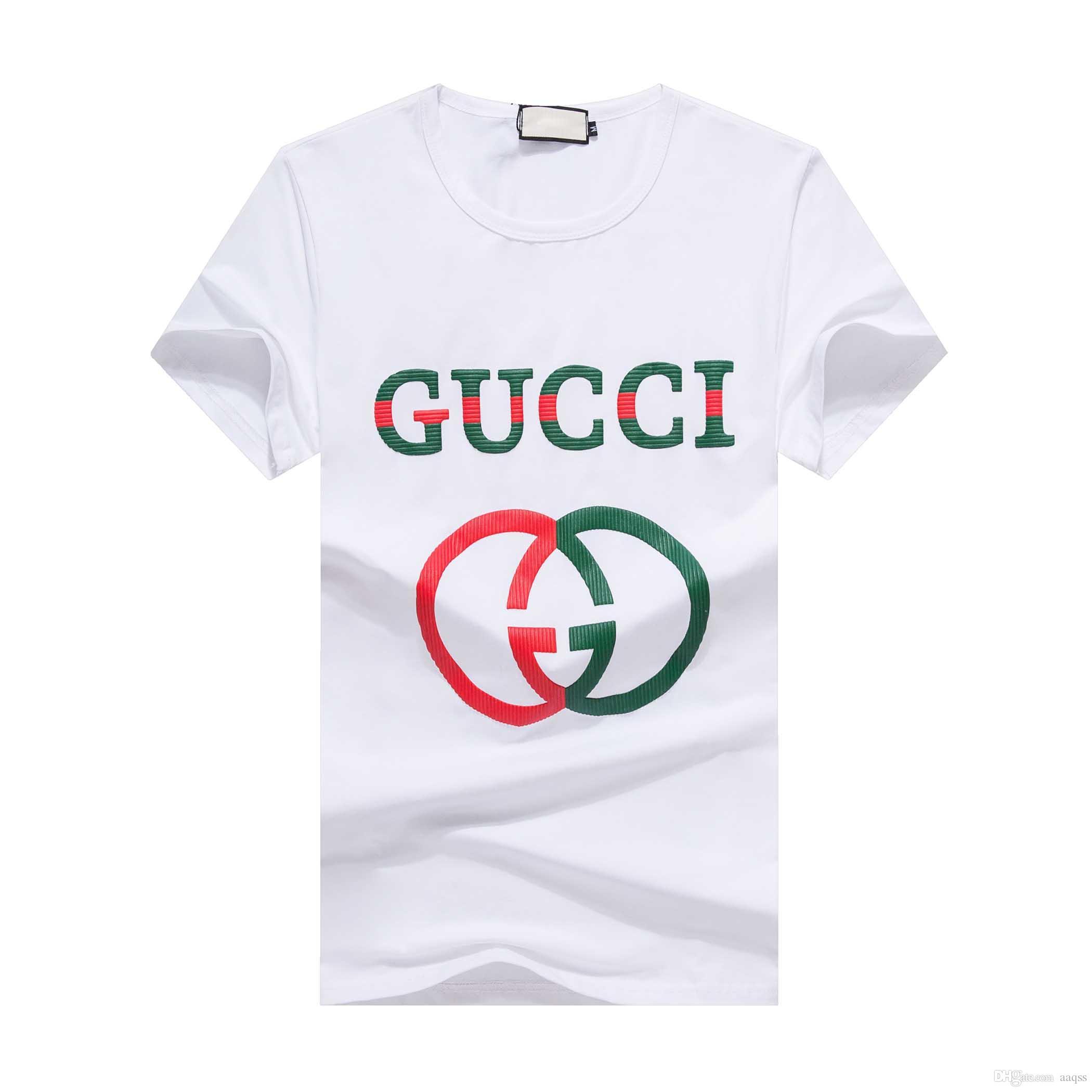 Impresión camiseta de los hombres de moda casual de la medusa camisetas de manga corta de verano Tops para hombre diseñadores de camisetas