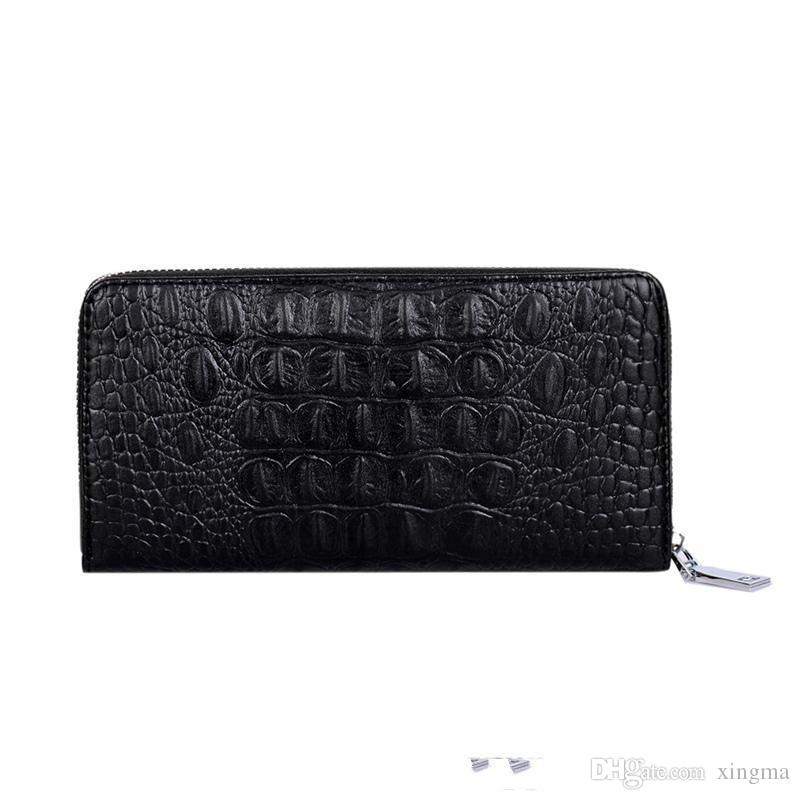Großhandelsmode-klassische Luxuxhandtaschen-Multifunktionsmänner der Luxuxalligatormappen-Handtasche der Männer freies Einkaufen der Handtasche