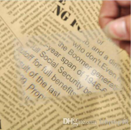 Credit Card Magnifier Magnification Magnifying Fresnel LENS Pocket Credit Card Size Transparent Glass