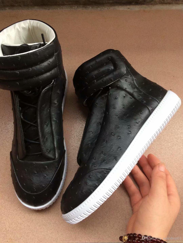 Высокое качество красочный высокий Top человек Повседневная обувь Мужская обувь Туризм Flats Кроссовки Kanye West Повседневная обувь тапки 38-47
