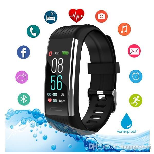 R1 Sport Band Fitness Tracker intelligent intelligent Bracelet Bandeaux étanche Pression artérielle moniteur de fréquence cardiaque Podomètre