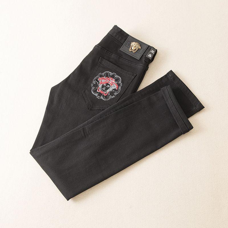 Usar Homens de Moda de Nova Chegada Original Design Homens Jeans qualidade perfeita Calças retas Calças Moda Maré Calças Wwq997