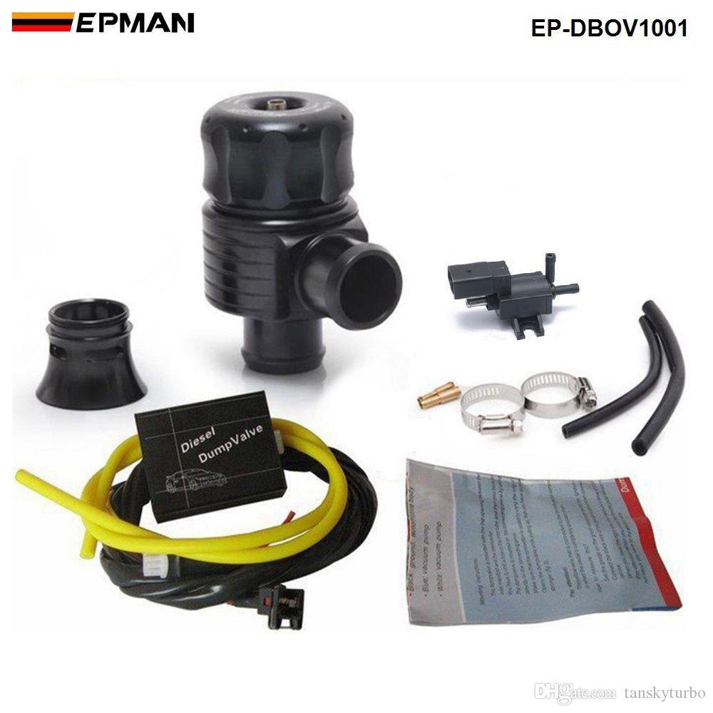 EPMAN Racing Turbo Aluminum 25mm Diesel Blow Off Valve Dump Valve BOV Kits Turbo Wastegate