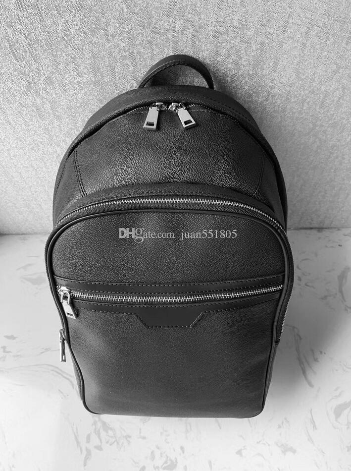 Europa Designer Brand N41612 Damier Cobal Black Mens Donne Zaini Borsa da scuola di alta qualità 40 cm