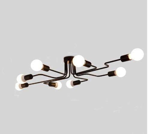 Личность потолочный светильник свет современный китайский стиль привел длинный железный потолочное освещение fixturesled потолочные светильники, лампы настройки
