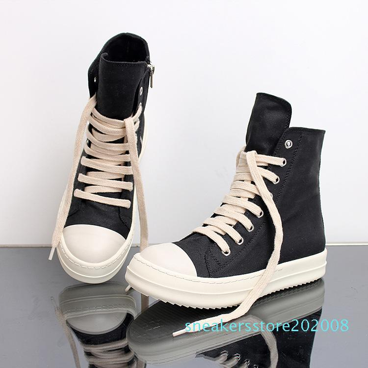 Size 35-46 Hip Hop Mens high top sneakers Casual Shoes lovers Tenis Sapato Masculino platform Sneakers Basket zipper Shoes s08