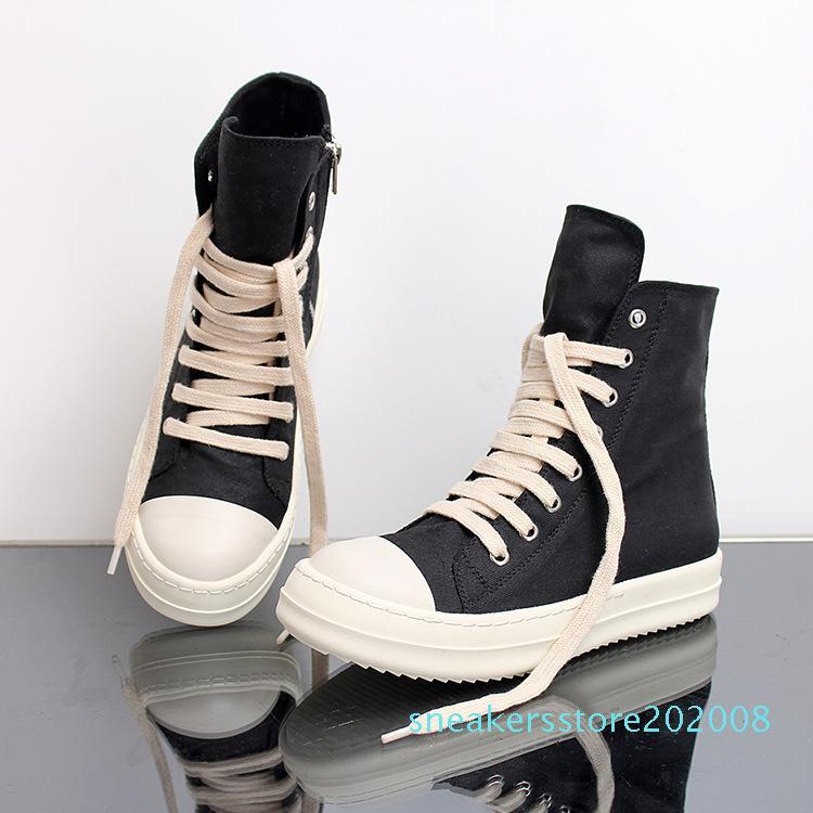 Tamanho 35-46 Hip Hop Mens tênis de cano alto sapatos casuais amantes plataforma Tenis Sapato Masculino Sneakers Basket zipper Shoes s08