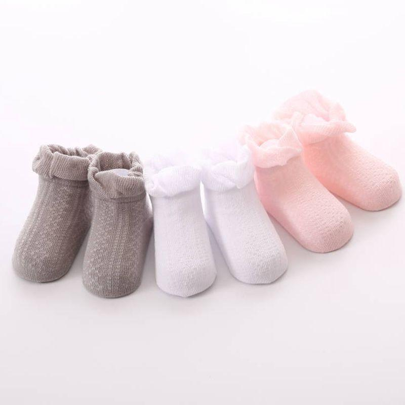 Autumn And Winter Baby Socks Non Slip Newborn Toddler Infant New