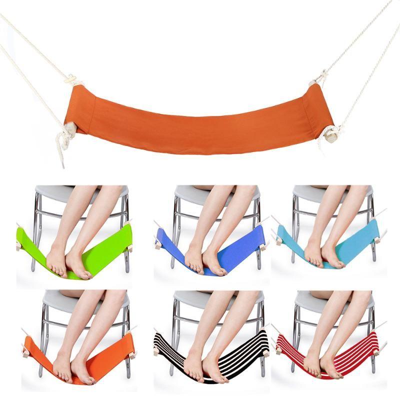 2020 pieds de bureau réglable Pieds Hamac repos Pédale Chaise Soins des pieds outil Bureau hamac Pour les particuliers Siège de jardin