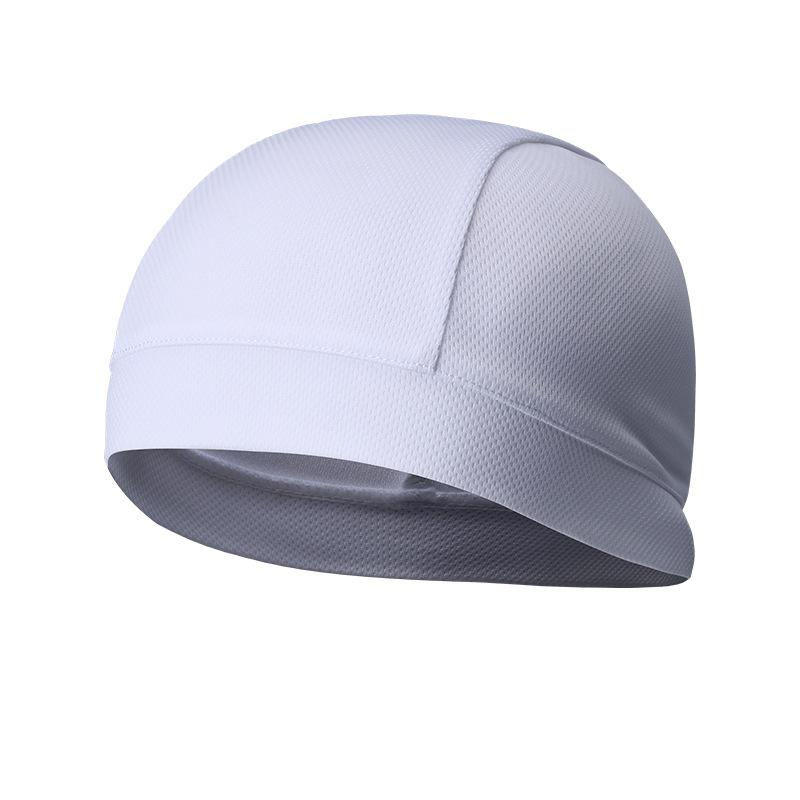 Summer Men Cap Elastic Breathable Absorb Sweat Solid Color Headband For Outdoor Sport Cycling Running Riding Hat FH99
