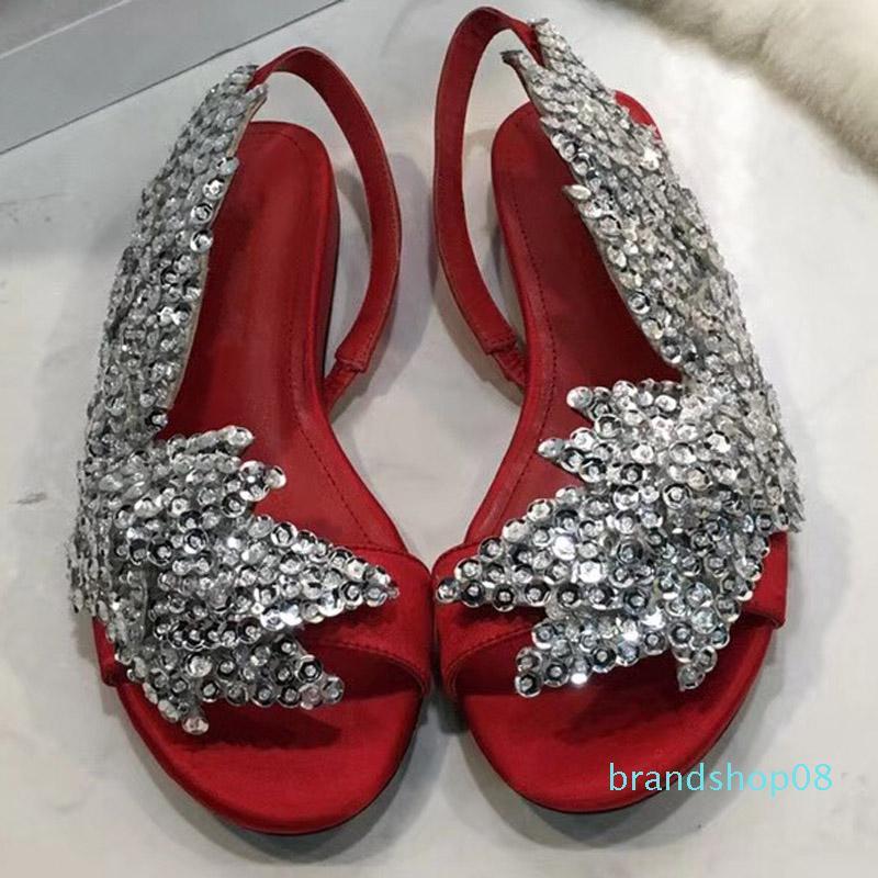 2020 mais novo desenhador Mão-Impressão Plataforma Mulheres Sandálias Salto Fundo cunha partido sexy das senhoras Sandálias Sapatos de cores