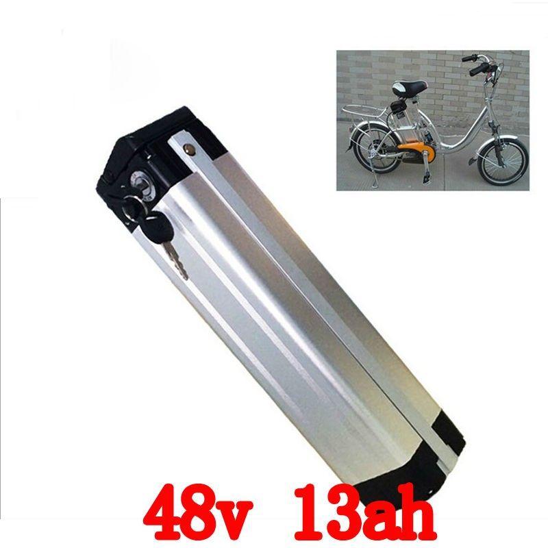 США, ЕС, нет налога на 48В 1000Вт Нижним сливом электрический велосипед батарея 48V 13AH литиевые аккумулятор с 30A BMS и 54.6 В 2A зарядное устройство