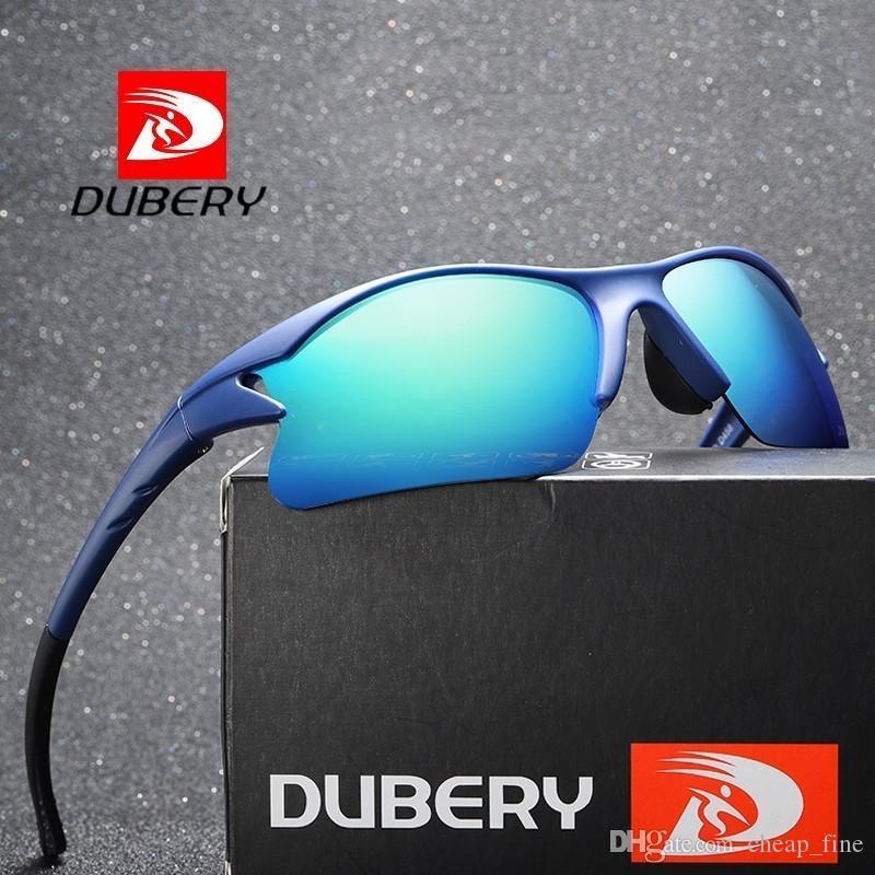 Dubery sonnenbrille männer polarisierte frauen 2019 new fashion goggle herren vintage sonnenbrille sport fahren retro spiegel luxus sonnenbrille