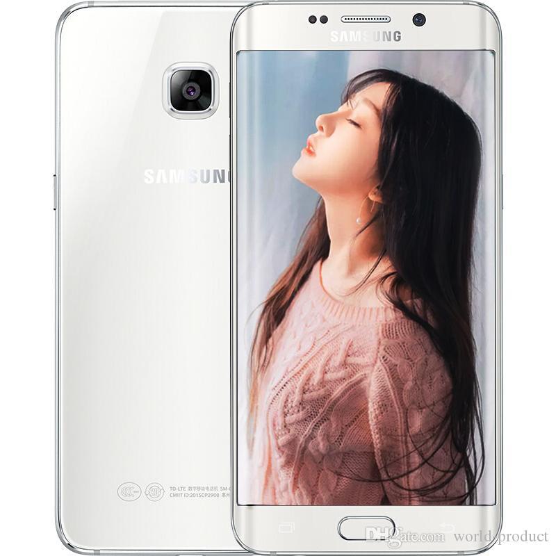 Samsung Galaxy S6 Edge plus S6 Edge+ G928F 5.7inch Original Android phone 4G LTE Refurbished phones 4GB RAM 32GB ROM Smartphone