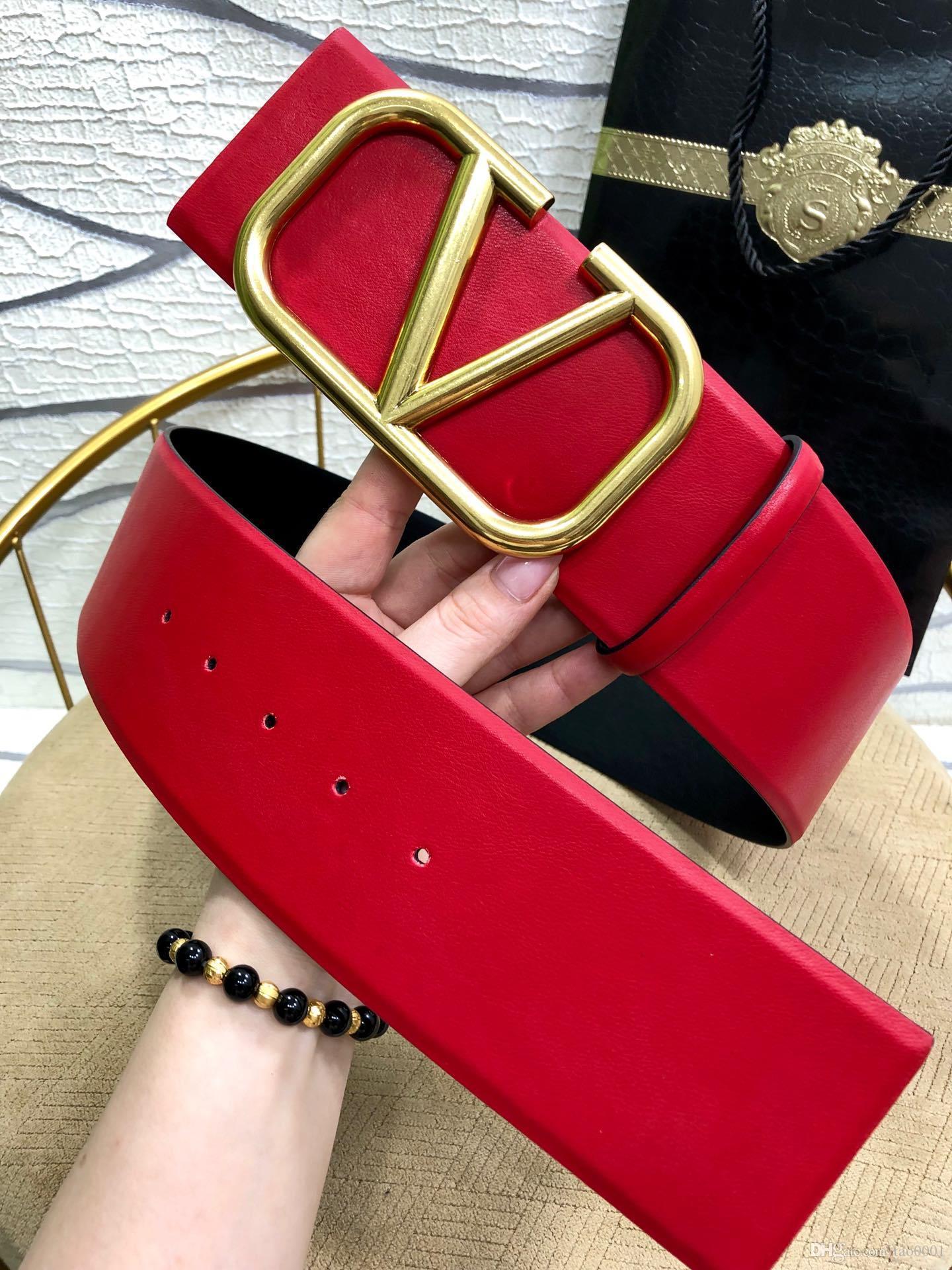 Cinture di lusso fibbia cinghie di cuoio genuine per le cinture di cintura donna mens degli uomini del progettista vita il trasporto libero