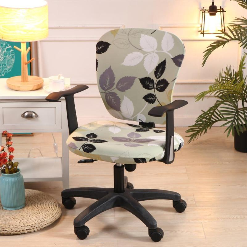 1PCs Modern Stretch Spandex Chair Covers Anti-dirty Computer Seat Chair Cover Easy Washable Removeable For Office Seat Chairs