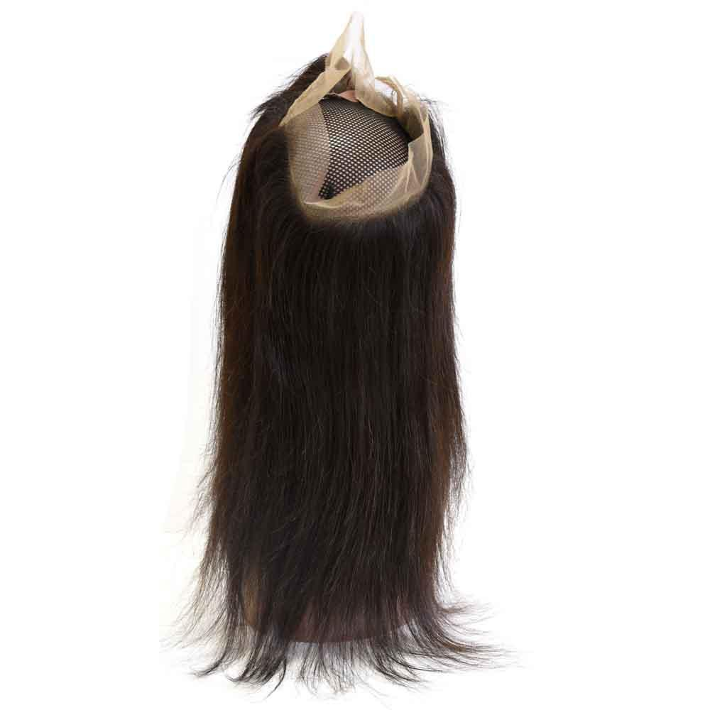 Top Quality Peruvian 360 Lace Frontal Closure 10A Best Virgin Human Hair Products Body Wave Shedding Free Straight Full Lace Front 8-22inch