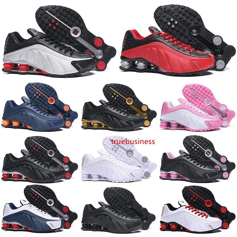 OG R4 zapatos corrientes de las mujeres OZ NZ 301 ENTREGAR rojo para hombre Triple Negro Blanco Azul Naranja Plata Trainer Deportes zapatillas de deporte 36-46 Descuento