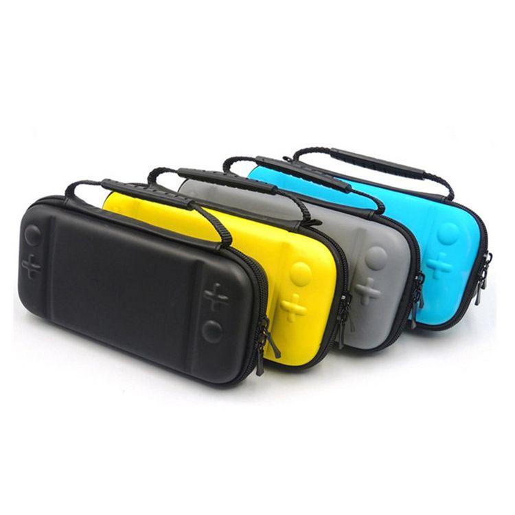 EVA 운반 케이스 가방 닌텐도 스위치 라이트 하드 내구성 게임 카드 저장 휴대용 케이스 100PCS / LOT CRexpress