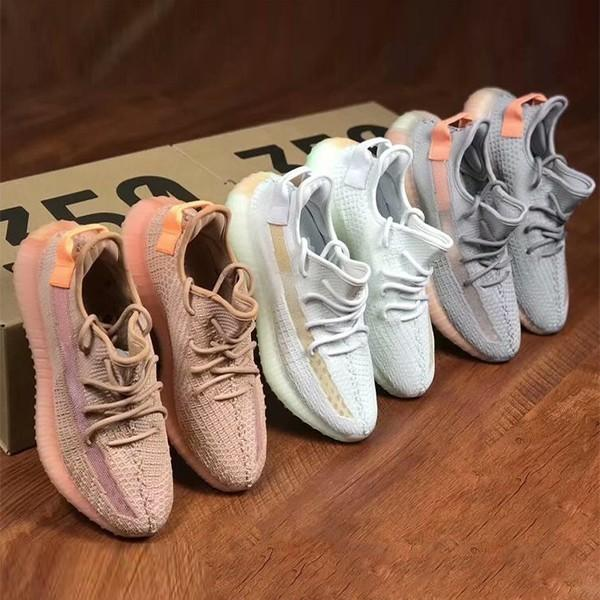 purchase cheap 967b7 8a844 2019 Kanye West Yeezy 350 Yeezys V2 Zebra Butter Orange Grey Beluga 2.0  Yezzy Black Red Bred Running Shoes For Sale Size 5 13 L24 Loafers Mens  Boots ...