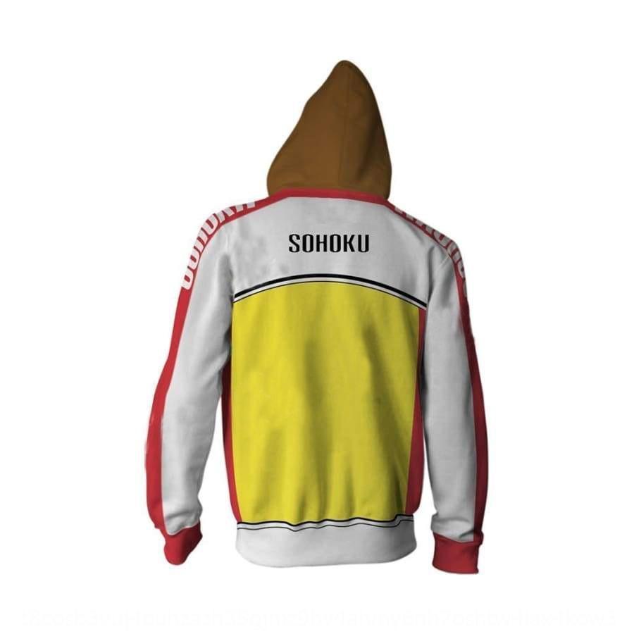 evb56 otaku popolare corsa Riman con cappuccio maglione Serie 3D Nuova animazione 3D cosplay hoodie maglione stampato