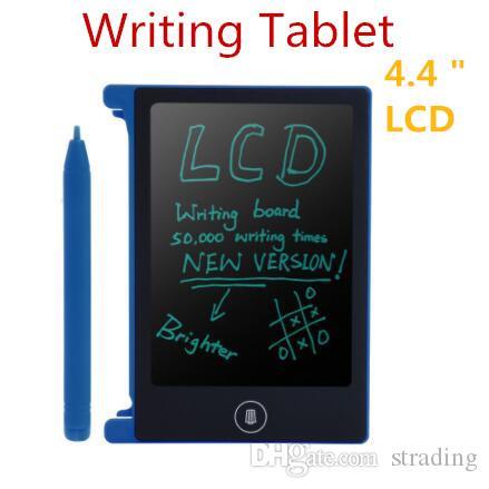 4.4 인치 LCD 쓰기 태블릿 디지털 휴대용 그리기 태블릿 필기 패드 전자 낙서 정제 보드 성인 어린이 어린이 선물