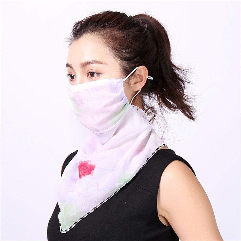 Impresso Meia Face Headband Nariz Protetor Esportes Scarf Bandanas Lenço Desenhador Lavável Er Cabeça A9EUV Scarves Máscaras Ciclismo Face Mask KBSC