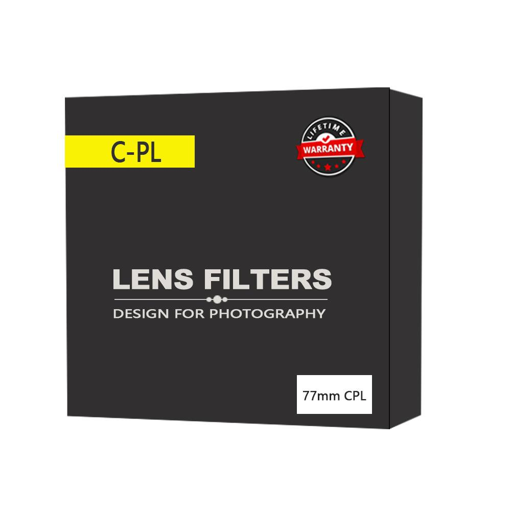 Kutupro polarized lens CPL polarized lens camera filter 40.5 46 49 52 58 62 67 72 77 82mm free shipping 15
