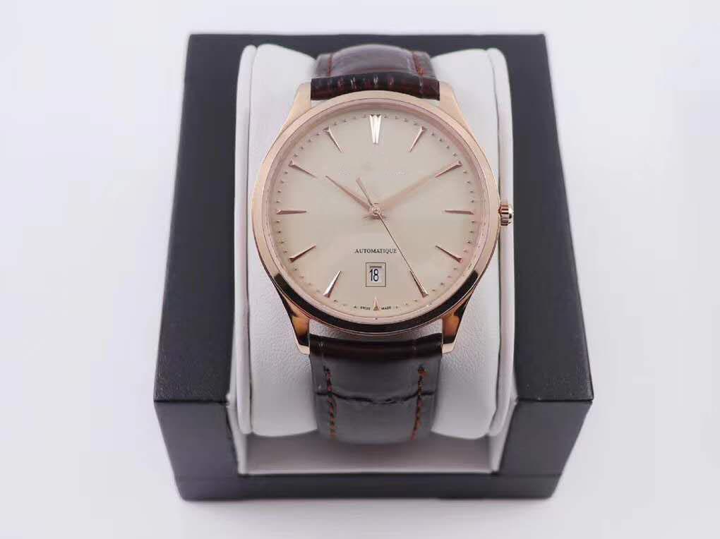 2020 году q1238420 9015 ультра тонкий классический ход на цепной механизм Cal.899/1 мужские роскошные часы