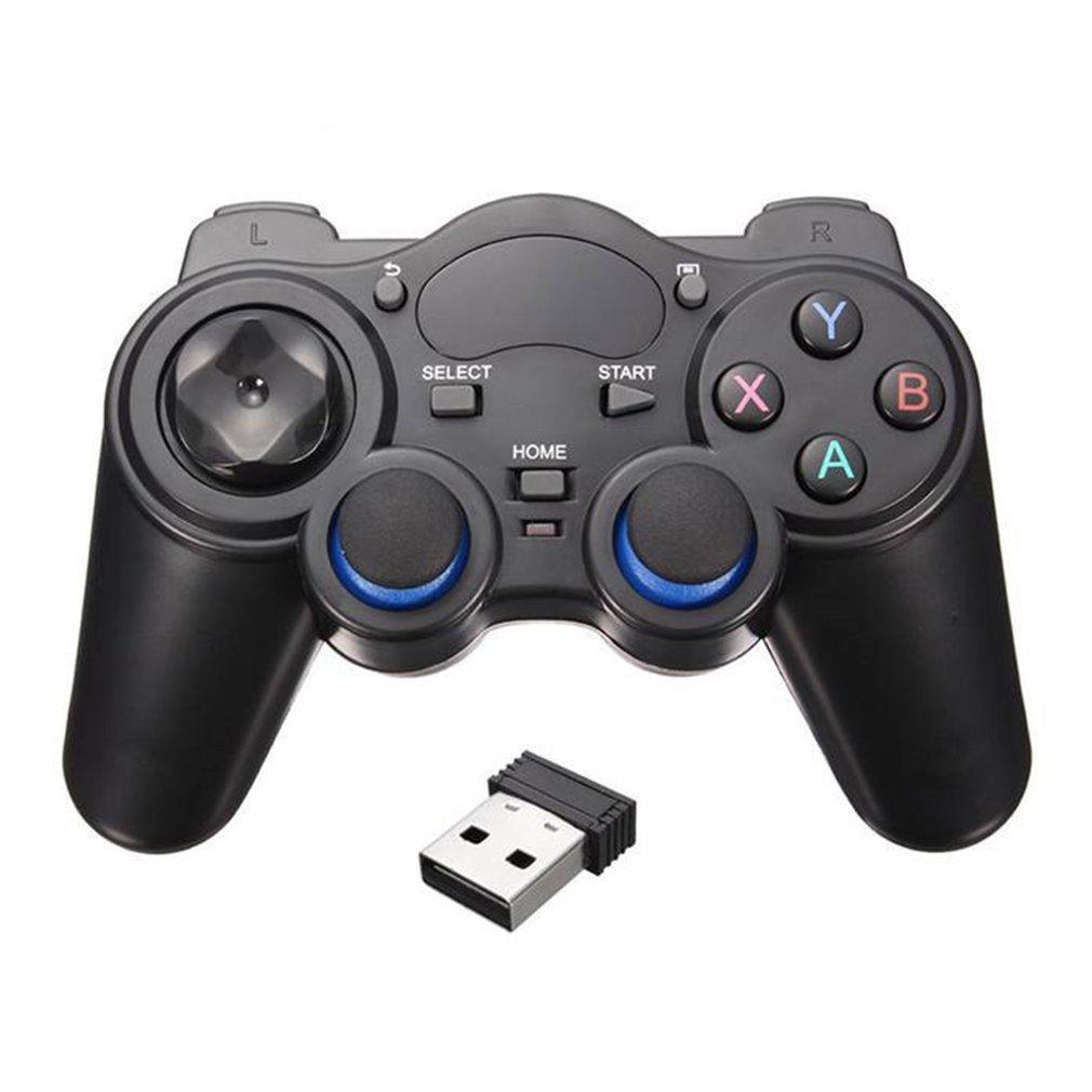Smart Phone sans fil Poignée Gamepad pour Android Phone / PC Ordinateur / PS3 / TV Box joystick 2.4G Joypad Game Pad à distance
